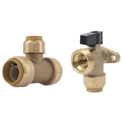SharkBite® Brass Push Fittings & Valves