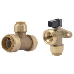 SharkBite® Brass Push Fittings and Valves