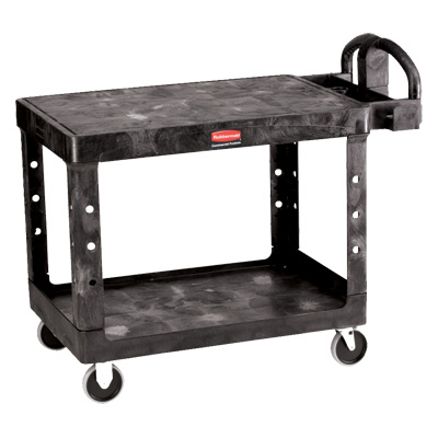 Rubbermaid® Heavy Duty Flat Shelf Utility/Service Carts