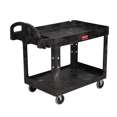 Rubbermaid® 2-Shelf Heavy Duty Utility/Service Cart