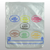"6-1/2"" x 7"" x 0.5 mil Portion Control Bags"