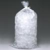 "8"" x 3"" x 20"" x 1.2 mil 8 lbs. LDPE Imprinted ""ICE"" Bags"