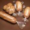 "5.5"" x 4.75"" x 15"" x 0.75 mil LLDPE Gusset Bread Bags"