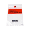 "1.75mil 6"" x 9"" Lab-Loc® Specimen Bags with Removable Biohazard Symbol- Clear"