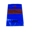 "6"" x 9"" x 1.75mil Lab-Loc® Specimen Bags with Removable Biohazard Symbol- Blue"