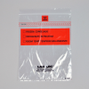 "1.75mil 8"" x 10"" Lab-Loc® Specimen Bags with Removable Biohazard Symbol- Clear"