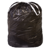 44 Gallon 1 mil Black Drawstring Liner