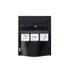 """3.62"""" W x 4.5"""" L + 1.5"""" Black 1 Gram Child Resistant Bags"""