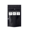 "4"" W x 7.12"" L + 1.9"" Black 1/4 oz. Child Resistant Bags"