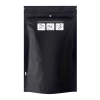"6.02"" W x 9.8"" L + 2.36"" Black 1 oz. Child Resistant Bags"