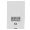 "18"" x 24"" x 2 mil Lay Flat LDPE Suffocation Warning Bags"