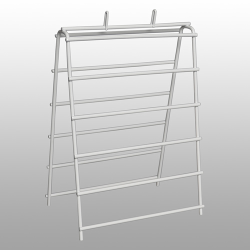 "Wire Saddle Pack Stand - 6"" L  X 6-1/4"" W X 11.75"" H"