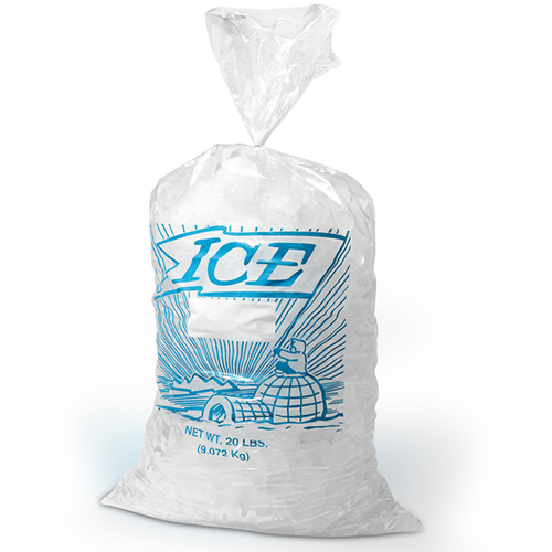 Metallocene Plain or Printed Ice Bags