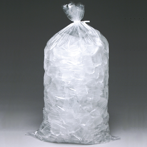 """13.5"""" x 28"""" x 1.75 mil 20 lbs. LDPE/MET Ice Bags"""