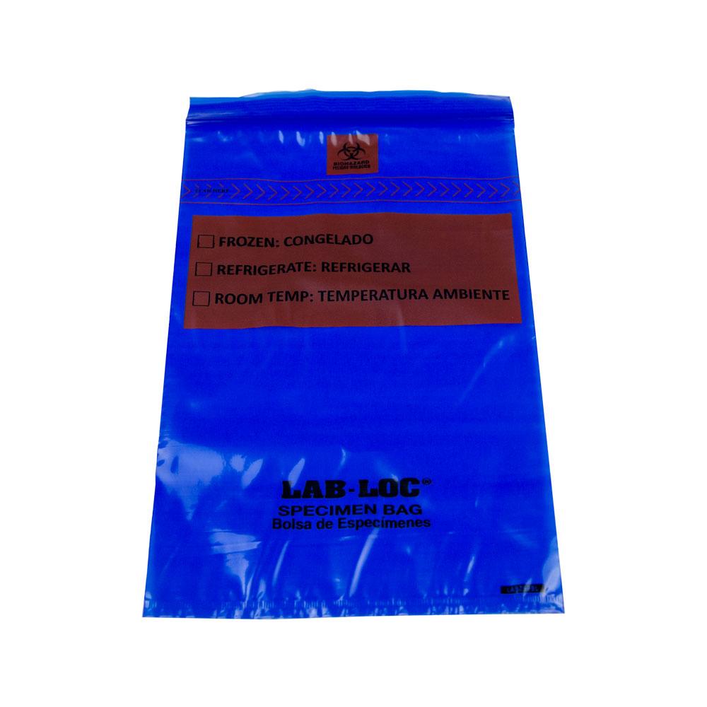 1000 Bags 6 X 9 1.75 Mil Lab Loc Specimen Bags w//Removable Biohazard Symbol Elkay Plastics LABZ69BBX