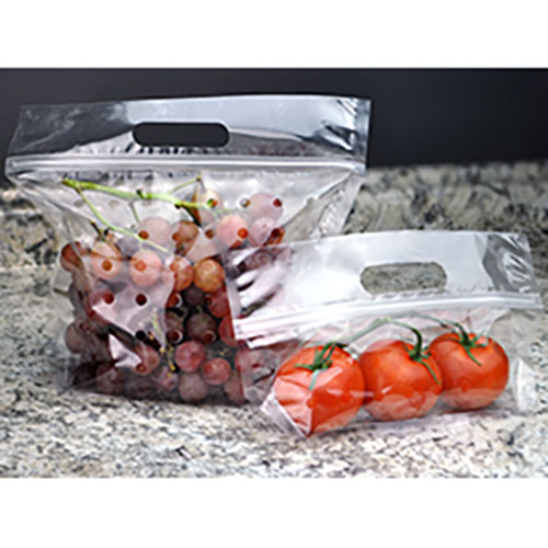 "10"" W x11"" L Vented Produce Pouch"