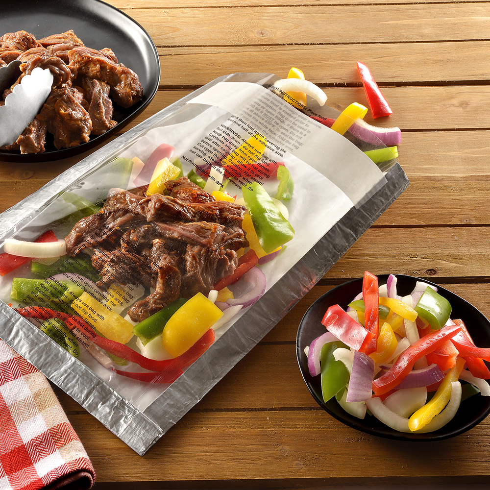 Ready Chef Go® BBQ & Oven Foil Self-Sealing Bags