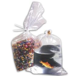 "Tuf-R® Polyethylene Flat Plastic  Bags, 5"" x 5"" to 7"" x 24"""