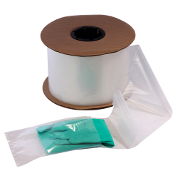 Low-Density Polyethylene Plastic Bags on a Roll