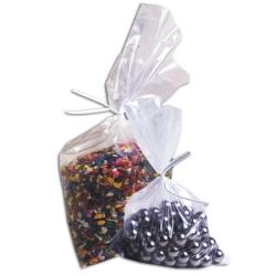 "Tuf-R® Polyethylene Flat Plastic Bags, 11"" x 12"" to 14"" x 36"""
