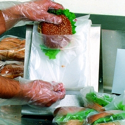 Clear Saddle Pack Sandwich Bags