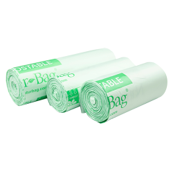 3 Gallon NaturBag™ Compostable Can Liners - Case of 500