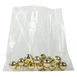 "6"" L x 6"" W 80 Gauge Clear PVC Shrink Bags - Box of 500"