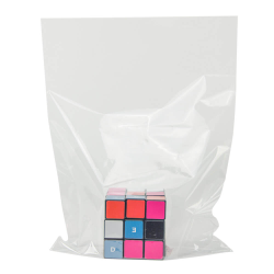 "10"" L x 7"" W 80 Gauge Clear PVC Shrink Bags - Box of 500"