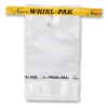 "2.5"" x 5"" x 2.25 mil 1 oz. Whirl-Pak Sampling Bags with Write-On Blocks"