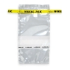 "3-3/4"" x 7"" x 2.5 mil 7 oz. Whirl-Pak Sampling Bags with Write-On Blocks"