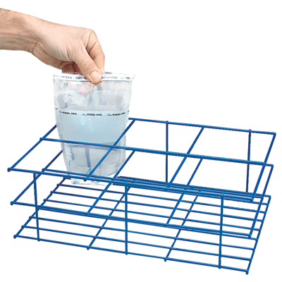 """6 Compartment Carrying Rack - 13-3/4""""L X 9-1/4""""W X 4-1/2""""H"""