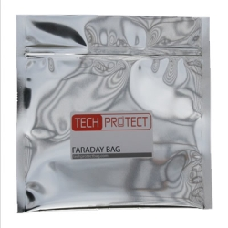 "8"" W x 8"" L Small Faraday EMP Bag"