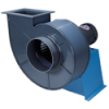 PVC/PVC Direct Drive Industrial Blower with 5 HP, 1725 RPM, 208-230/460v, 3 Phase, TEFC Motor