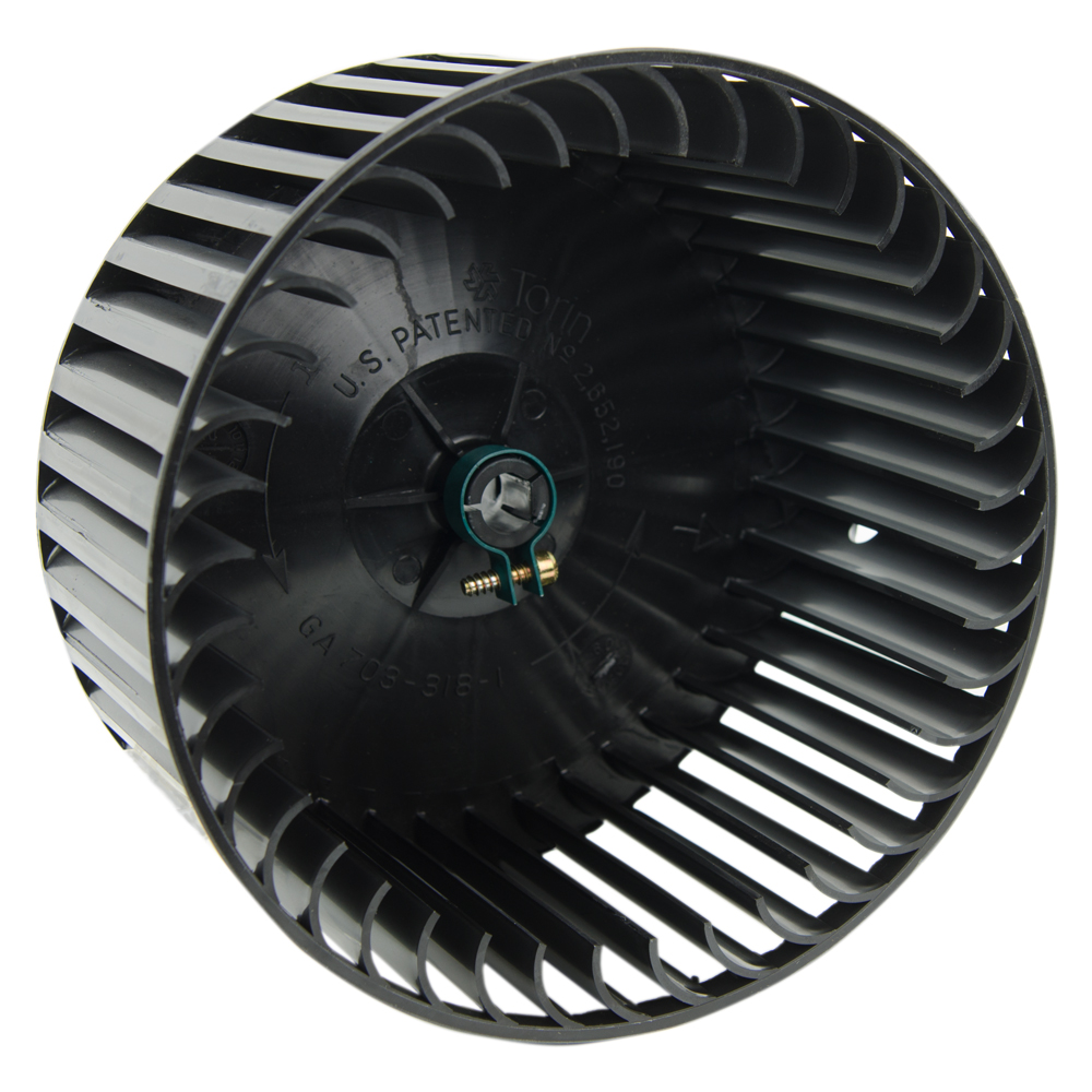 "Blower Wheel with 1/2"" Bore & Clockwise Rotation"