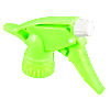 "28/400 Neon Green Spray Head with 9-1/4"" Dip Tube (Bottle Sold Separately)"