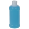4 oz. Natural HDPE Modern Round Bottle with 24/410 Neck (Cap Sold Separately)