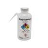 16 oz./500mL Ethyl Alcohol Nalgene™ Vented Unitary™ Right-To-Know Wash Bottle with White 38mm Cap