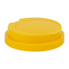 83mm Snap Top Cap for Towel Wipe Canister- Yellow