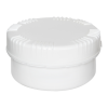 300mL HDPE UN Rated White Packo Jar with White Lid