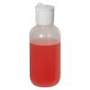 2 oz. LDPE Boston Round Bottle with 18/410 Flip-Top Cap