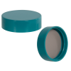 38/400 Green Melamine Cap with F217 & PTFE Liner