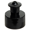 "28/410 Black Push-Pull Closure with .135"" Orifice"