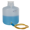 4 Gallon Tamco® Modified Nalgene™ Wide Mouth LDPE Carboy with a Tubing & Pinch Spigot