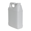 32 oz. White HDPE F-Style Jug with 33/400 Neck (Cap Sold Separately)