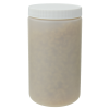 32 oz. Natural HDPE Wide Mouth Jar with 89/400 Cap
