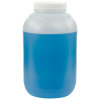 128 oz. Wide Mouth Round HDPE Jars with 89/400 Cap