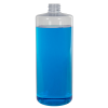 32 oz. Clear PVC Cylindrical Bottle (Cap Sold Separately)