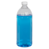 32 oz. PET Clear Round Bottle with 28/400 Cap