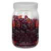 16 oz. Clear PET Jar with 70/400 Cap