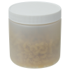8 oz. Natural HDPE Wide Mouth Jar with 70/400 Cap